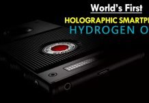 Meet The World's First Holographic Phone The Hydrogen One