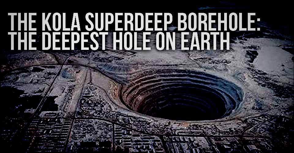 The Deepest Kola Super-Deep Borehole Is Really 'Door to Hell'