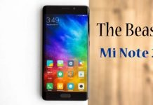 Xiaomi Mi Note 2 The Beast Unleashed With 4GB RAM