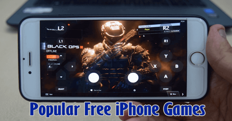 10 Most Popular Free iPhone Games To Play Now 2018