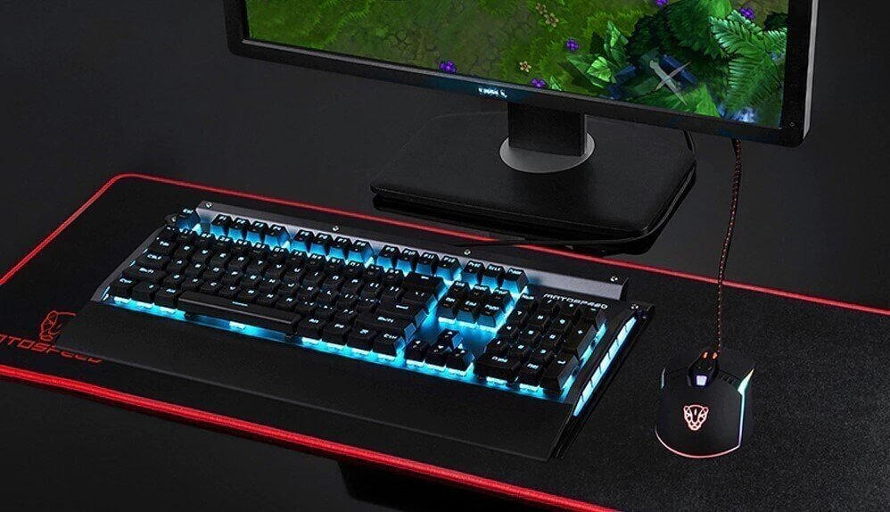 Amazing Keyboard Motospeed CK98