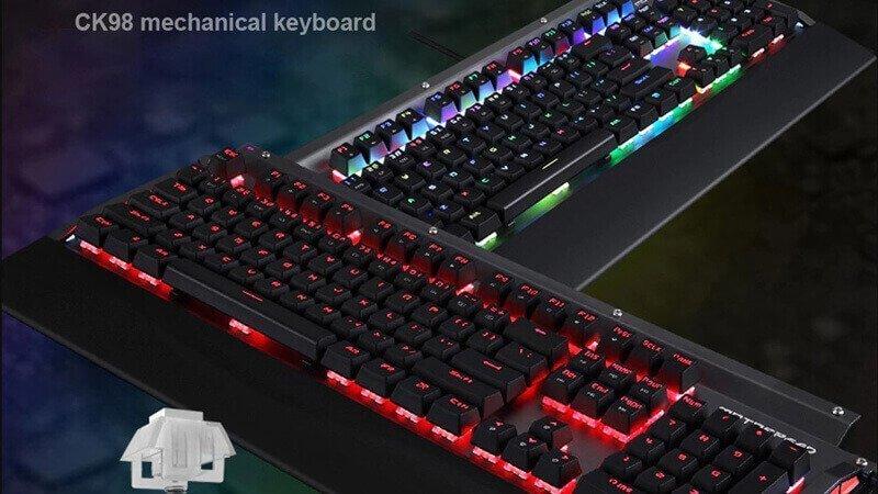 Amazing Keyboard Motospeed CK98 RGB Gaming Mechanical
