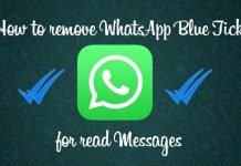 Now, You Can Use Whatsapp Feature To Hide The Blue Ticks