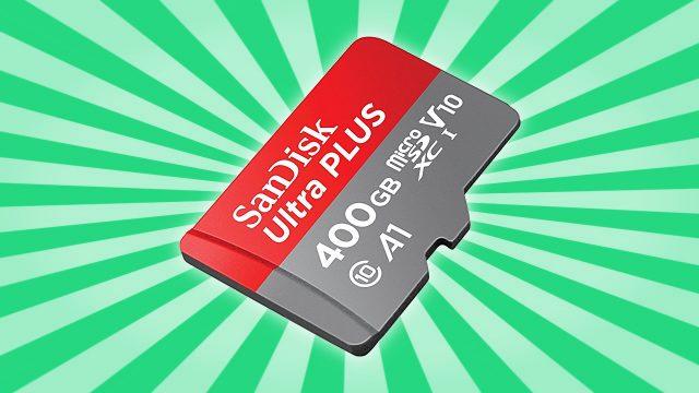 World's Highest Capacity MicroSD Card SanDisk Ultra 400GB Is Here