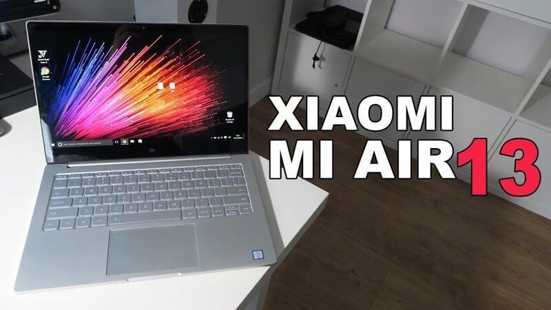 Xiaomi Air 13 Notebook Fingerprint Sensor With Windows 10