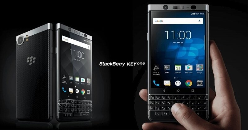 BlackBerry KEYone Smartphone With Android 7.1 And 4GB RAM