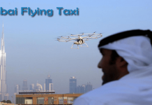 Dubai Flying Taxis Has Started Testing Over Sky