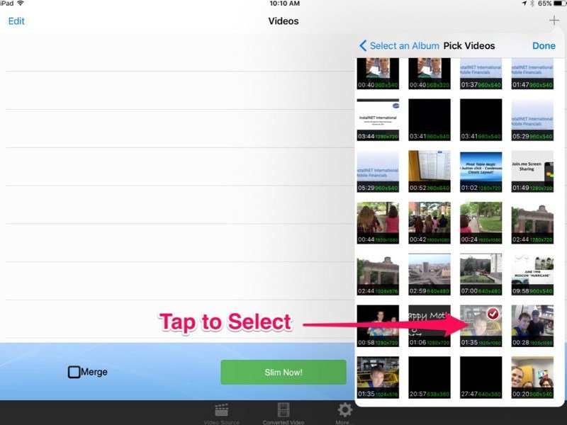 How To Compress Large Videos On iPhone or iPad