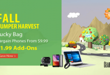 Hurry! GearBest Announced The Super Bumper Harvest Sale