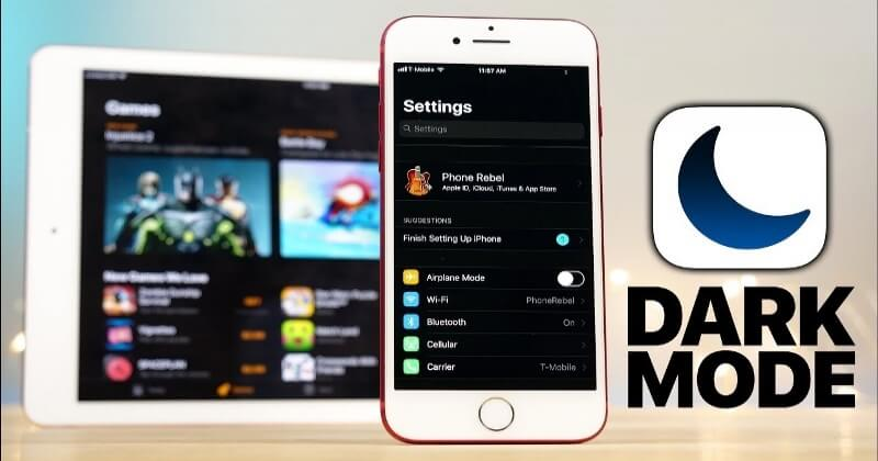 Enable iPhone Dark Mode in iOS 10 And iOS 11