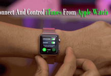 Make Apple Watch Acts As A Remote Control For iTunes