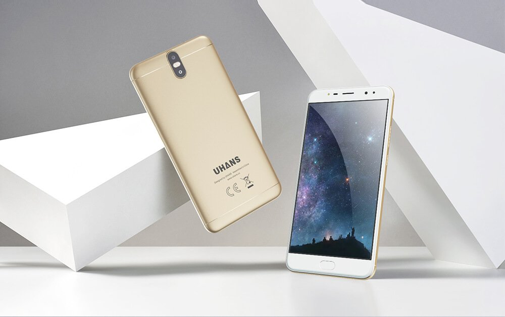 Uhans Max 2 A Large Screen Phablet With Four Camera