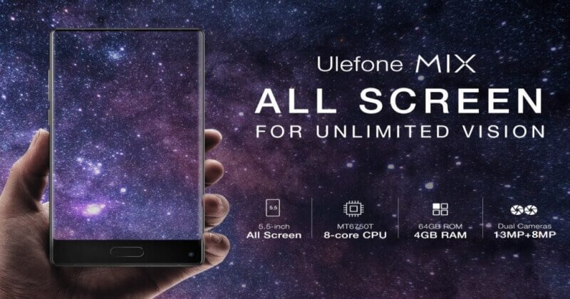 Ulefone Mix 4G Phablet Comes With Amazing Features And Specs