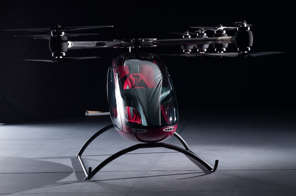 Unbelievable! PassengerDrone Already Exists And Transporting People