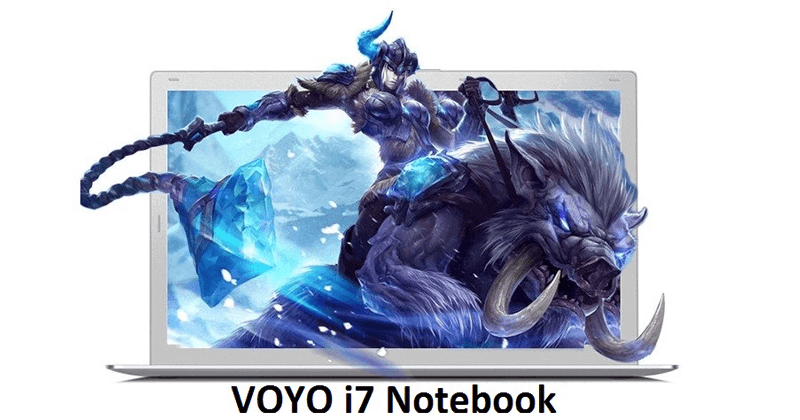 VOYO i7 Notebook With Amazing Features And Specs