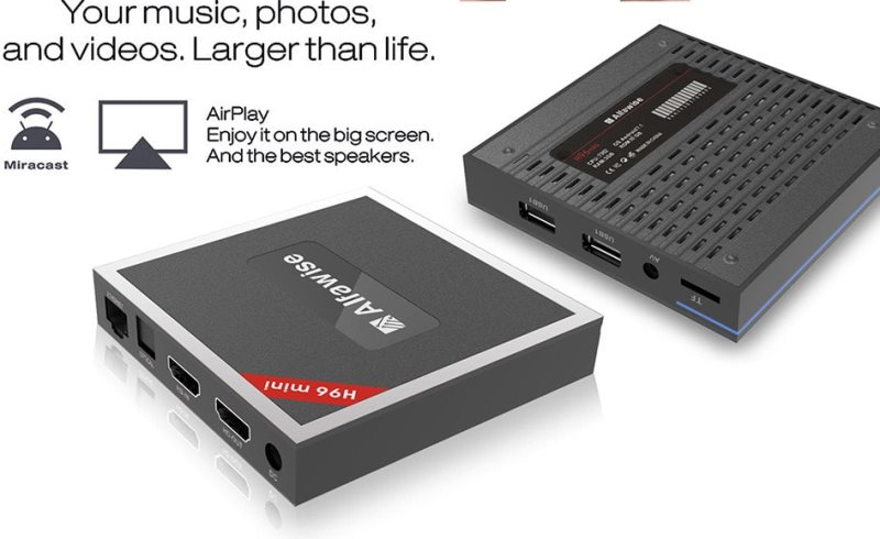 Alfawise H96 Mini TV Box For Superb Entertaining Experience