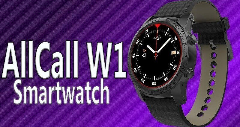 AllCall W1 3G Multipurpose Smartwatch With 2GB Of RAM