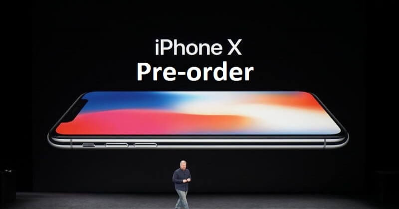 Apple Offering Lucky Customers Best Chance At Pre-ordering An iPhone X