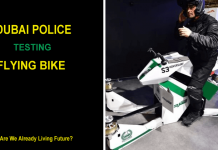Dubai Police Is Testing Flying Multirotor Hoverbikes