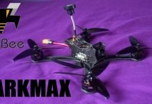 FuriBee DarkMax 220mm FPV World Fastest Racing Drone