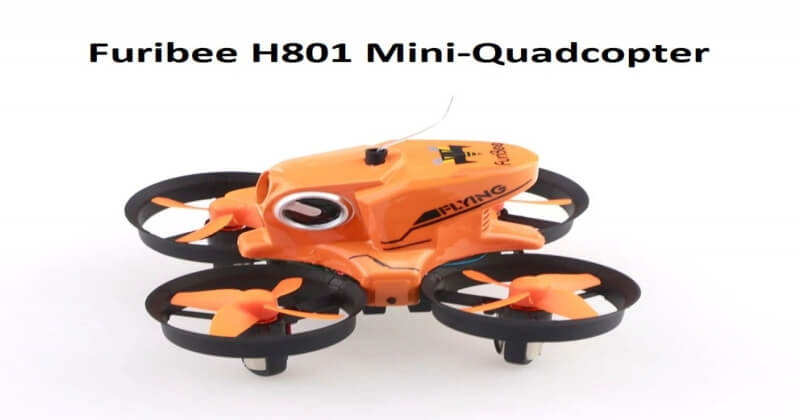 Furibee H801 Remote Control Tiny Quadcopter With HD Camera