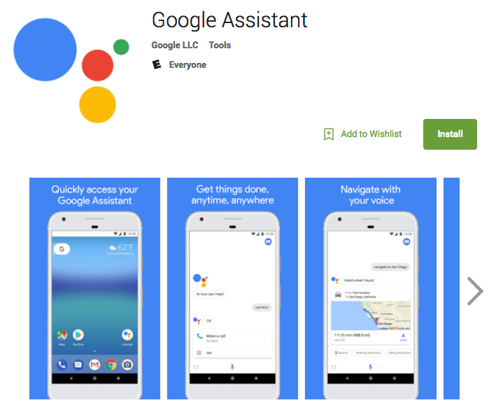 Google Assistant App Now Available on Google Play Store