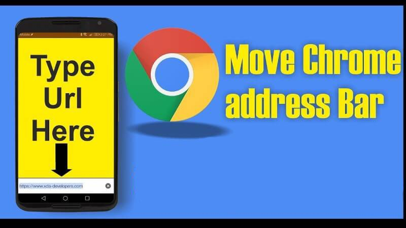 How To Move Chrome Address Bar To Bottom On Android