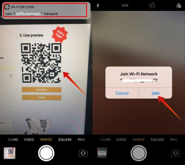 How to Share WiFi Network With QR Code on iOS 11