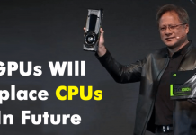 Nvidia Founder & CEO Predict That GPUs Can Replace CPUs In Future