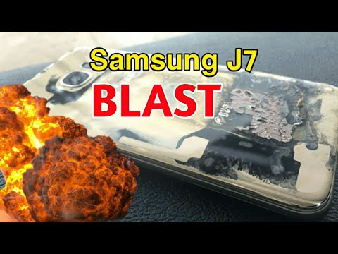Samsung Galaxy J7 Explodes On Jet Airways Flight