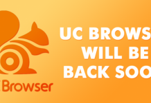 Good News For UC Browser Users - UC Browser May Come Back Next Week