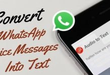 How To Convert WhatsApp Voice Messages Into Texts