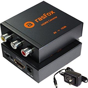 Rasfox AV - RCA to HDMI Converter