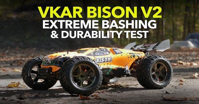 VKAR RACING BISON V2 Brushless RC Truck Review