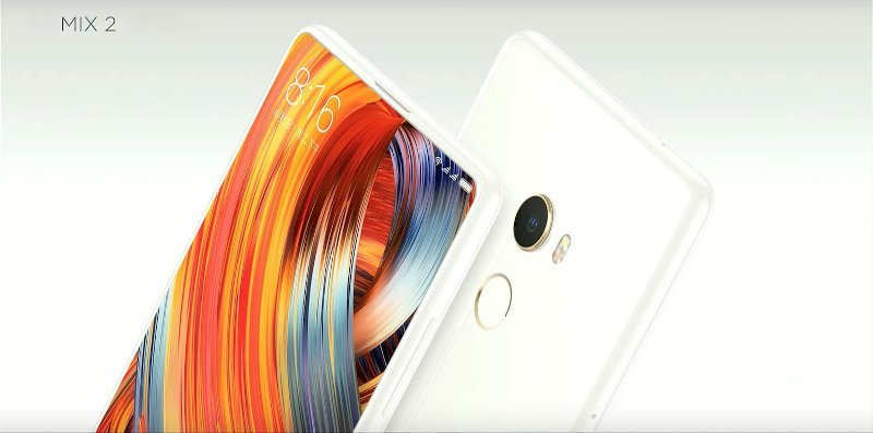 Xiaomi Mi Mix 2 Phablet Global Version Features 5.99 inches HD Display