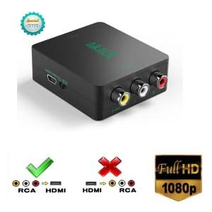 Xorastra(TM) Best RCA to HDMI Converters
