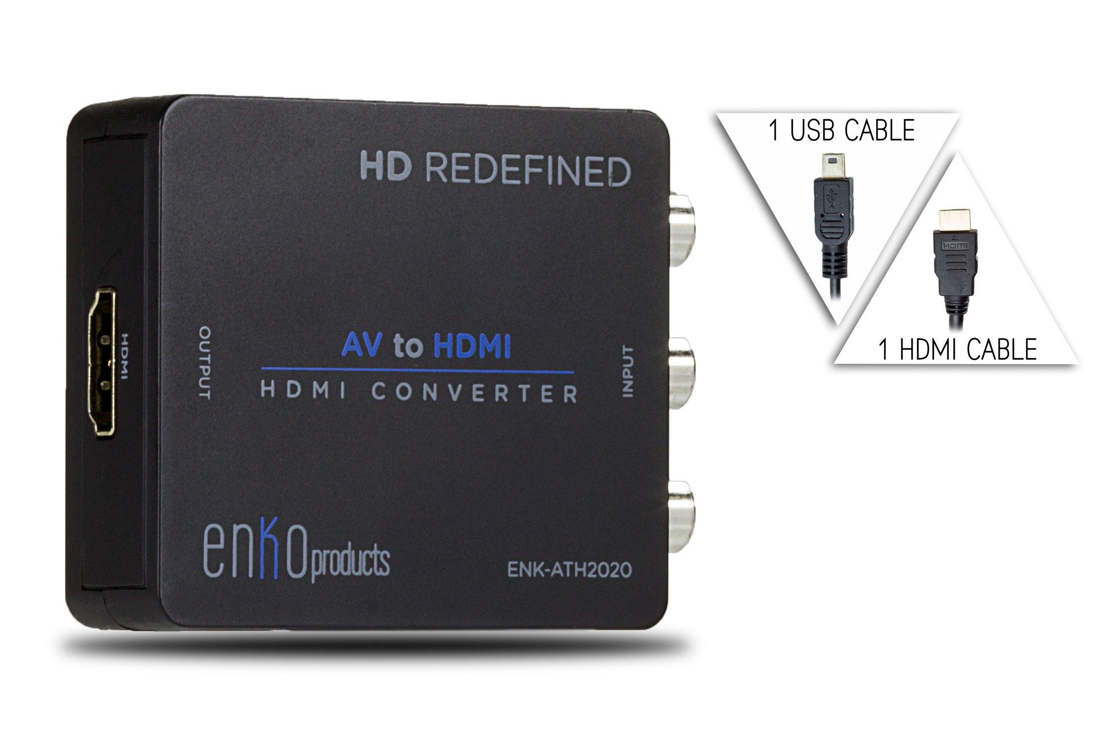 enKoRCA to HDMI Converter