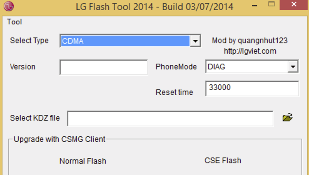 Download LG Flash Tool To KDZ and TOT Firmware on LG Smartphone