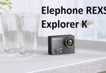 Elephone REXSO Explorer K Waterproof 4K Action Camera