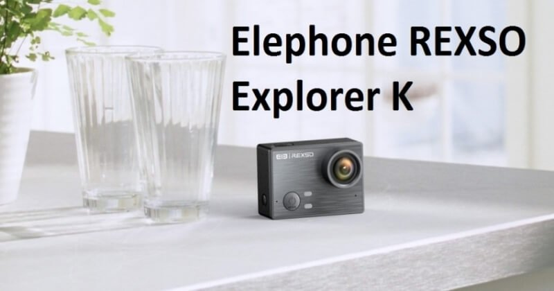 Elephone REXSO Explorer K Waterproof 4K Action Camera