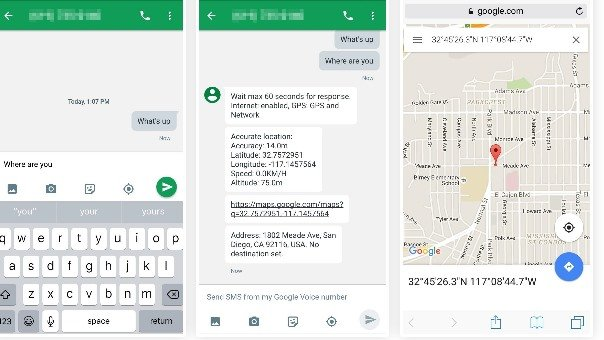 How To Reply Messages With Location While Driving