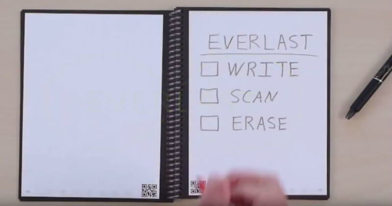 The Amazing Everlast Notebook With Smart Scanning Pages