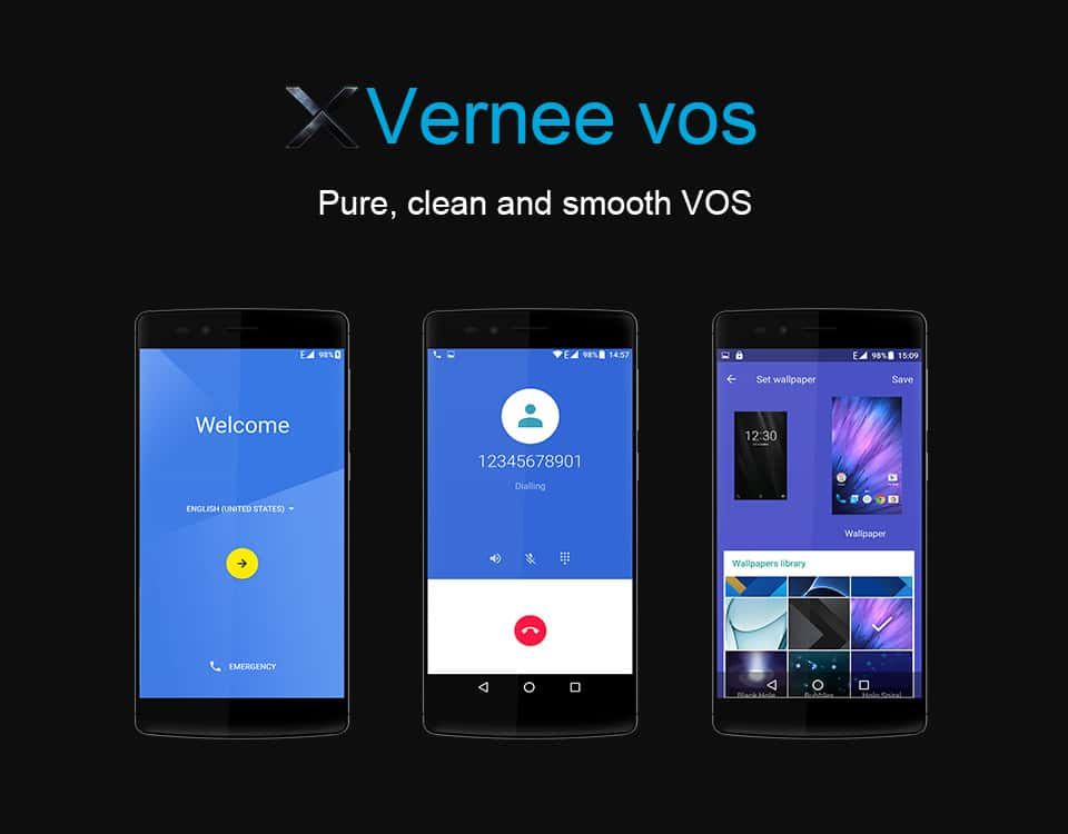 Vernee X 4G Phablet Comes With 6GB RAM And 128GB ROM