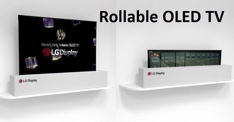 LG Display's Insane 65-inch OLED TV Can Be Rolled Like Poster