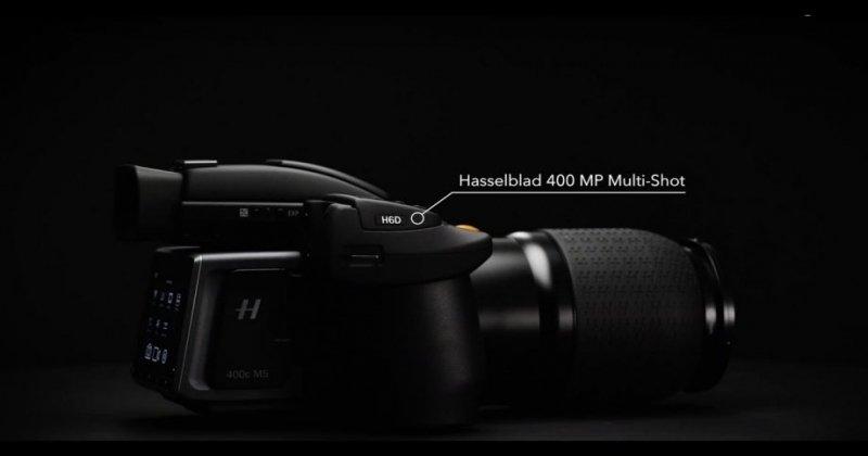 The Hasselblad's H6D-400c 400-megapixel Multi-Shot camera