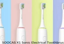 The Perfect White SOOCAS X1 Sonic Electrical Toothbrush