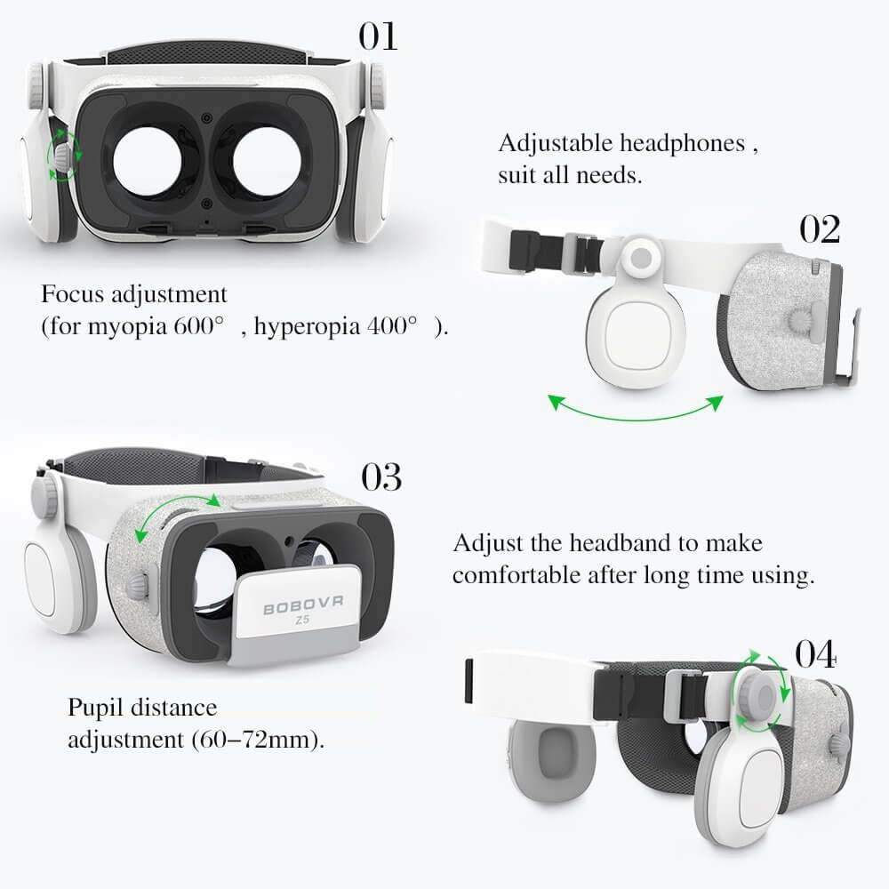 Xiaozhai BOBOVR Z5 VR Headset Full Review With Pros And Cons