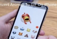 How To Convert Animoji To GIF On iPhone Using Workflow