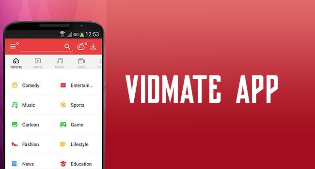 Download 2018 Vidmate App APK 3.39 Latest Version For Free