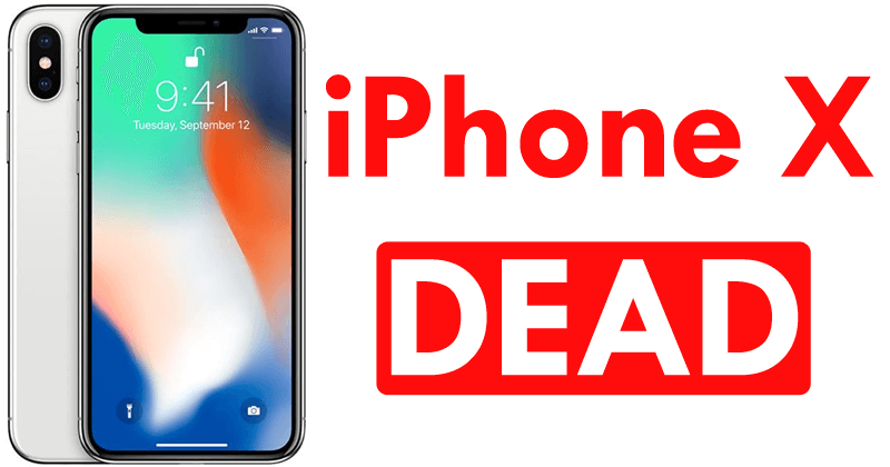 iPhone X Is Dead While LG Faces OLED Display Manufacturing Issues